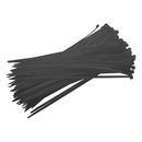 Stahovací páska černá 140mm 100ks