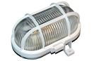 Průmyslové/sklepní oválné svítidlo, 60W, bílá
