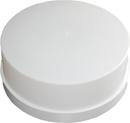 Celoplastové svítidlo 100W E27 IP44 kruh bílá