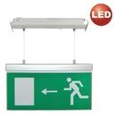 Nouzové svítidlo EXIT2 LED závěsné 3H D-doběh