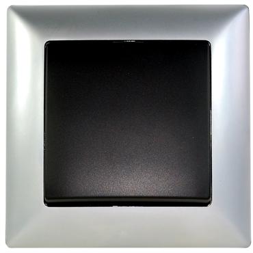 Visage2 Deluxe Vypínač universální ř.6 antracit bez rám.